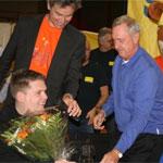 Robin Smits wint Gouden Rolstoel